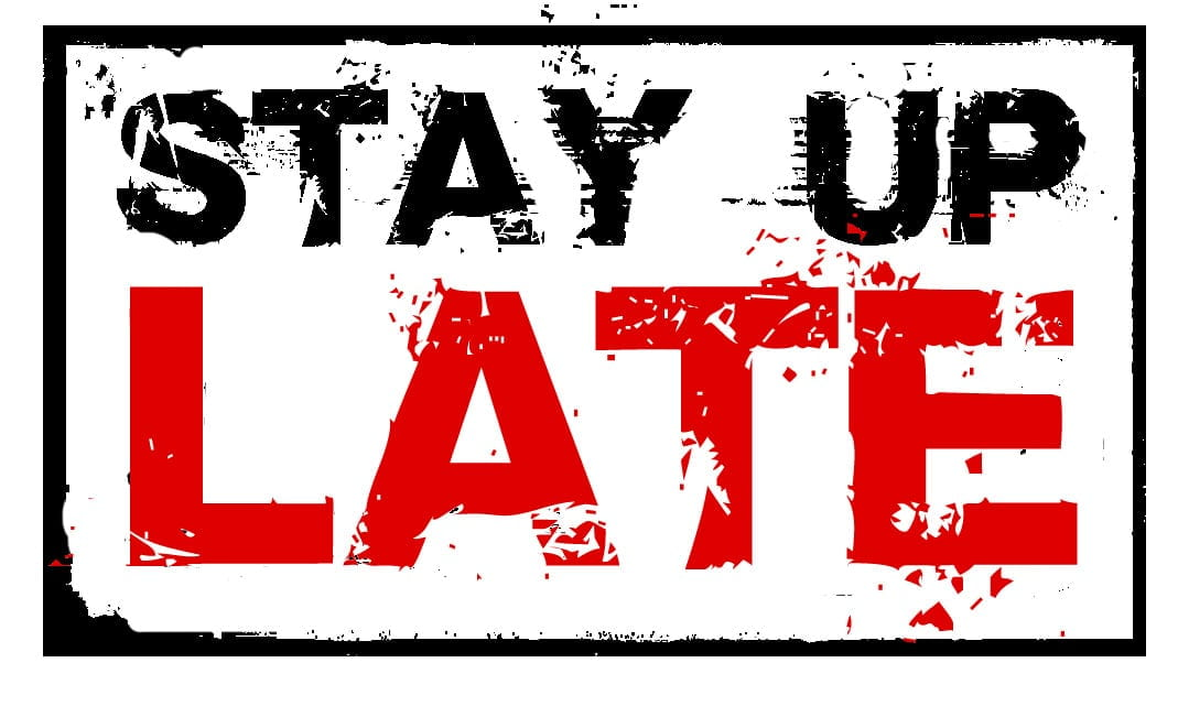 stay up late logo