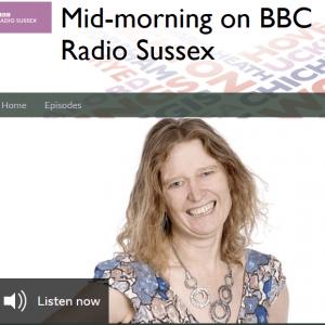 Students interviewed on BBC Radio Sussex