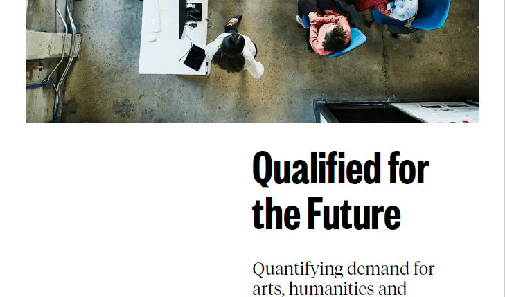 Cover of the qualified for the future report