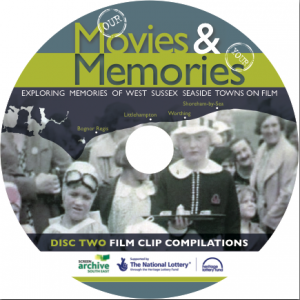 Movies & Memories DVD surface