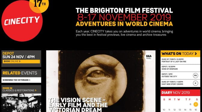The Brighton Film Festival November 2019 Adventures in World Cinema