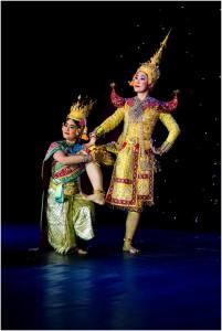 Thai dancers at ASEASUK conference