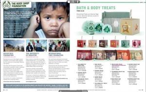 Body Shop catalogue screen shot