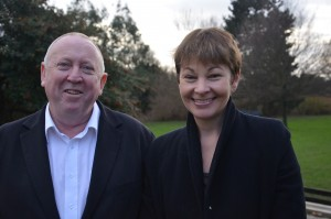 MEP Keith Taylor and MP Caroline Lucas4_532c20f52e_k