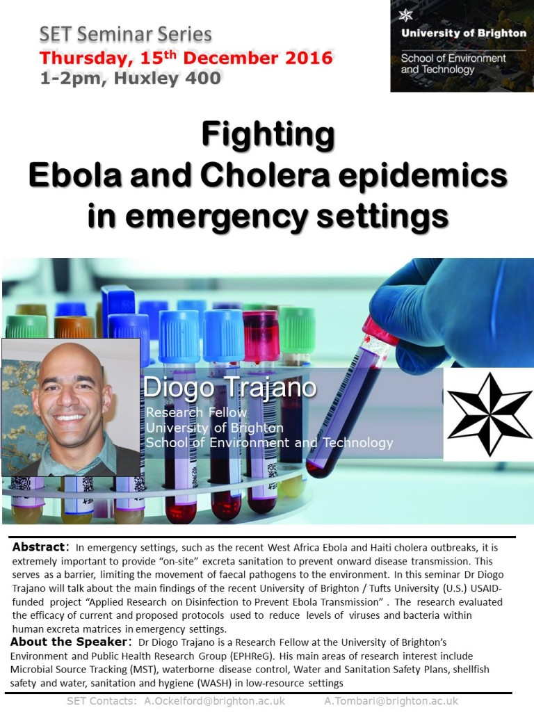 Fighting Ebola and Cholera Epidemics in emergency settings