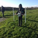 Practising environmental geophysics techniques out in the field