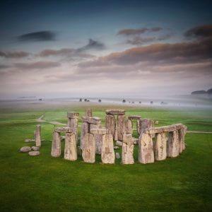 Image shows Stonehenge