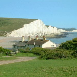 First field trip for our Geographers, Cuckmere Haven