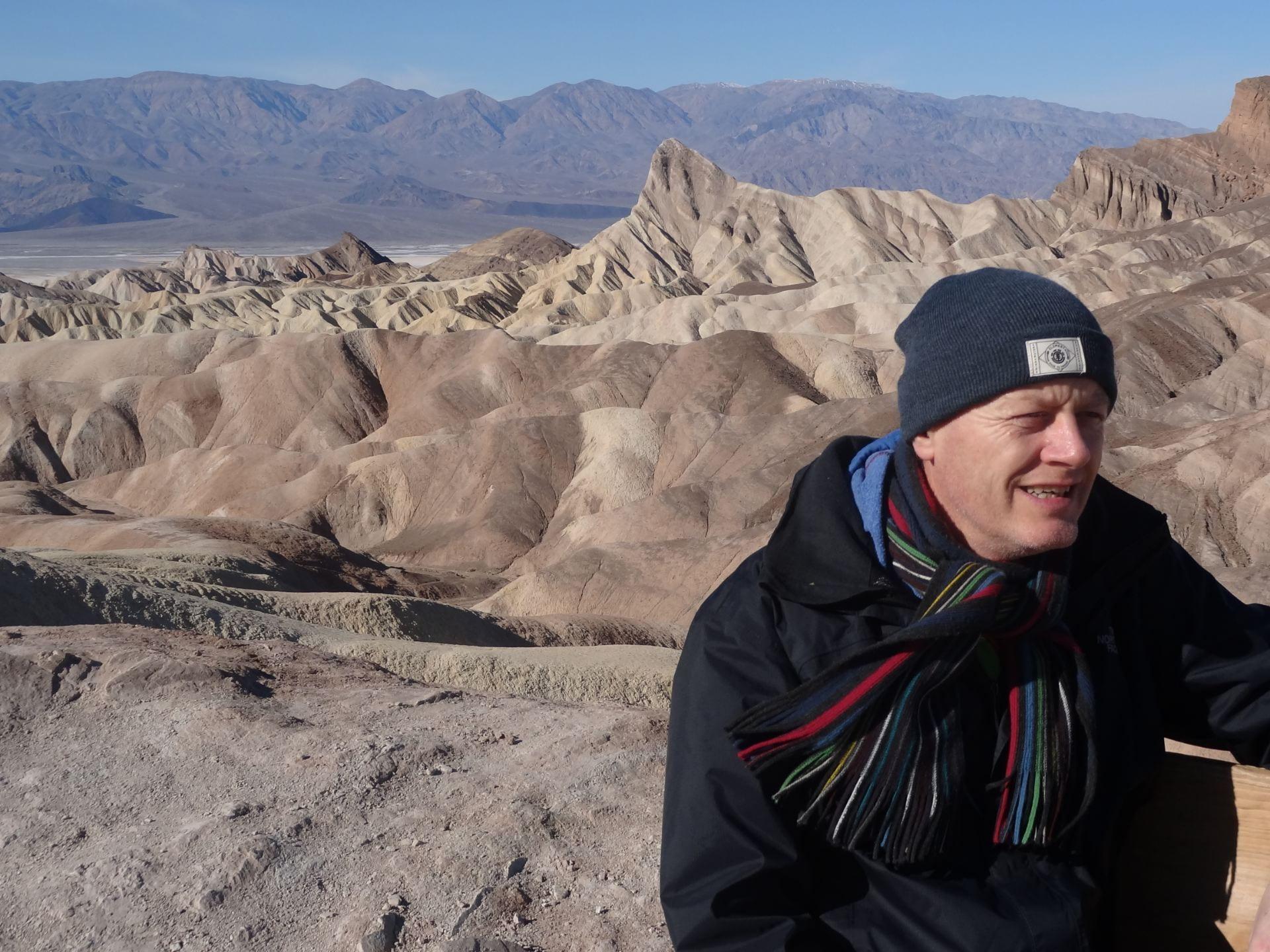 Professor Phil Ashworth in South America
