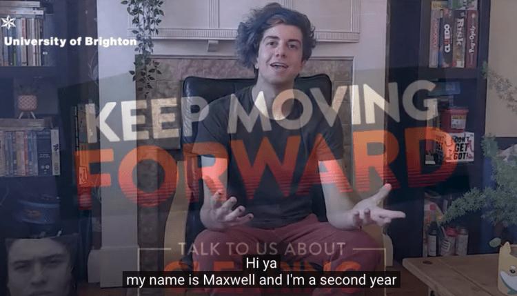 Environmental Science student Maxwell
