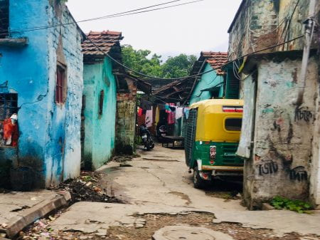 informal settlements in India