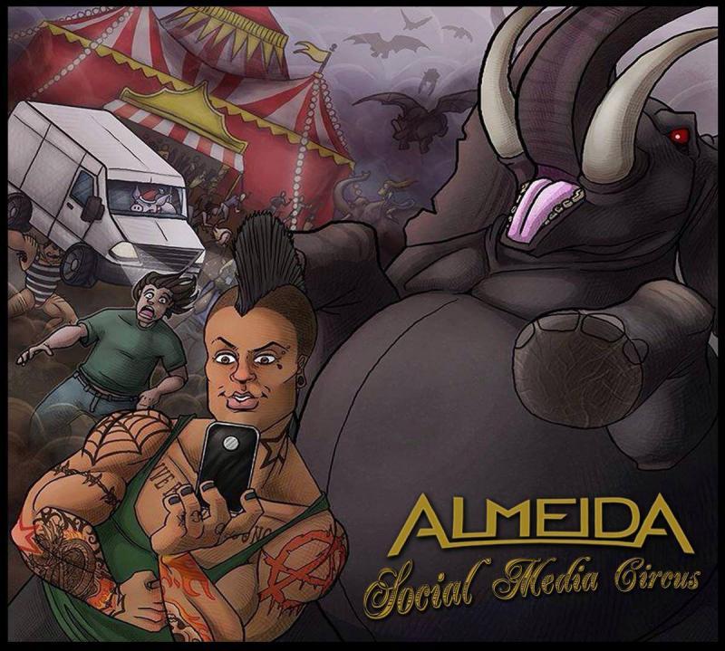 Almeida album cover art