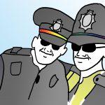 October 14th 2017 #Inktober Day 14 – Police