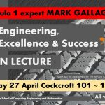 Formula One Expert Mark Gallagher Open Lecture