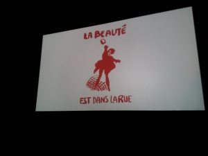 'La Beauté est dans la rue': iconic slogan and image from Paris 1968