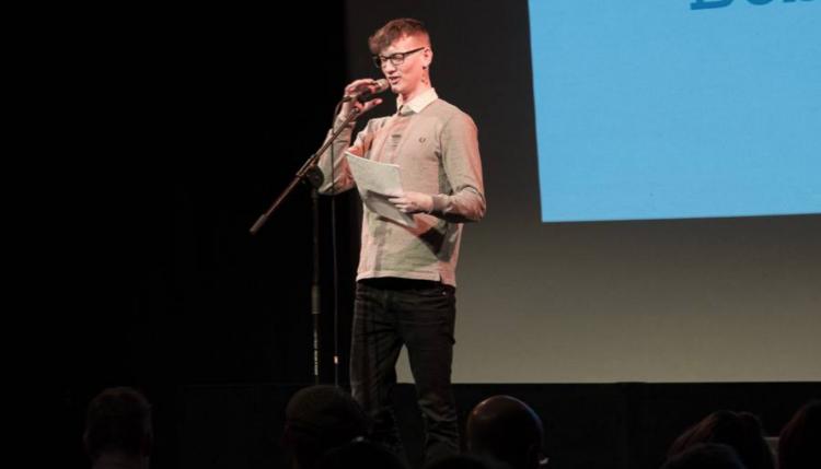 Poetry award night