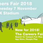 Careers fair: Weds 7 Nov