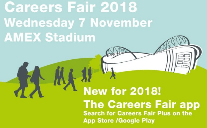 careers fair poster