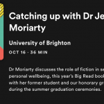 Dr Jess Moriarty podcast
