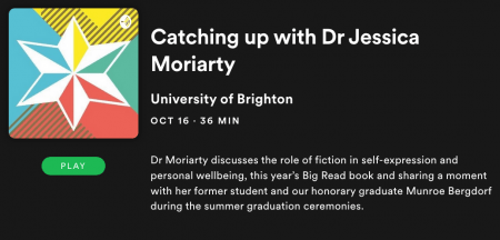 jess moriarty podcast image