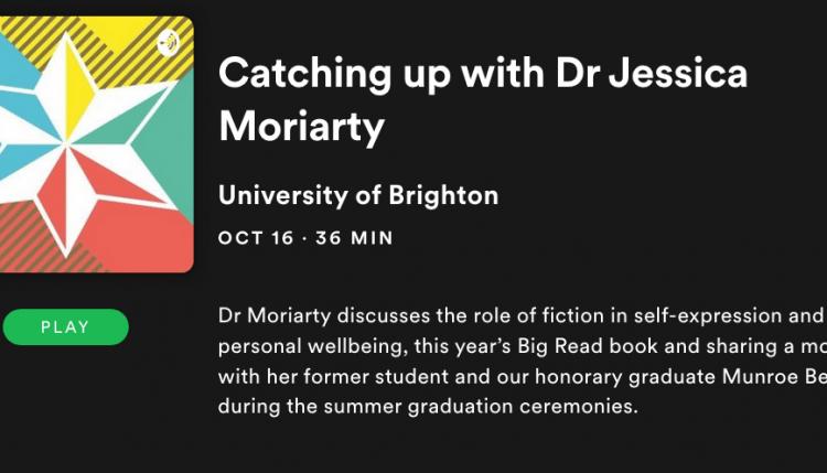 jess moriarty podcast image