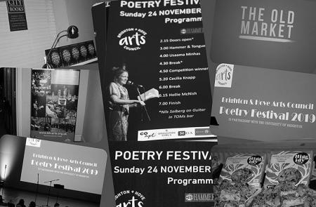 brighton poetry festival image