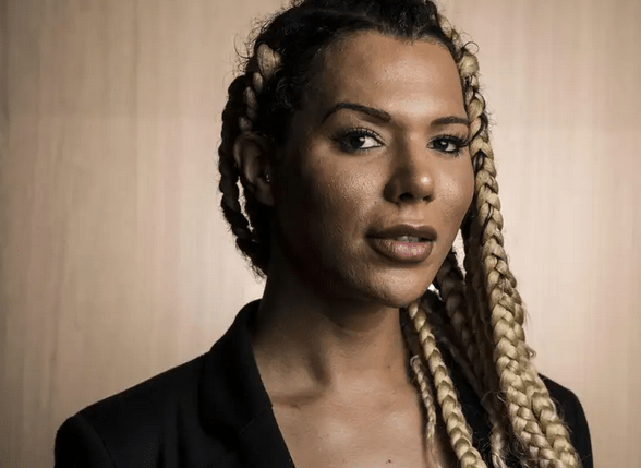 munroe bergdorf photographed by evening standard