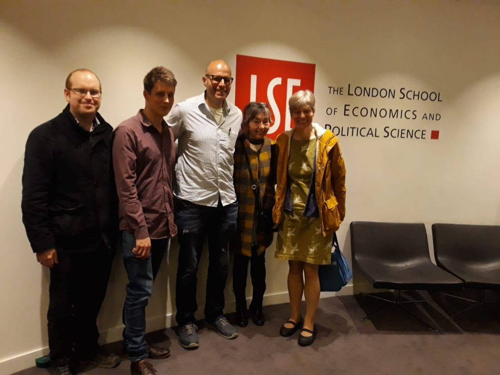 michael neu and robin dunford at LSE event
