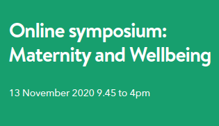 maternity and wellbeing symposium