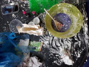 Sensory messy play