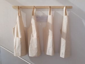 A Space to be You, Inclusive Aprons