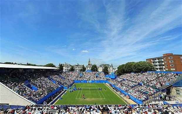 Eastbourne International tennis tournament.