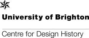 logo for University of Brighton Centre for Design History