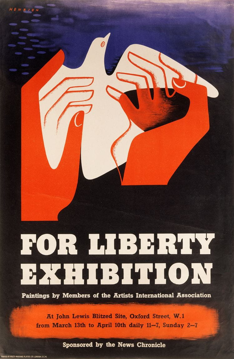 poster For Liberty, 1943