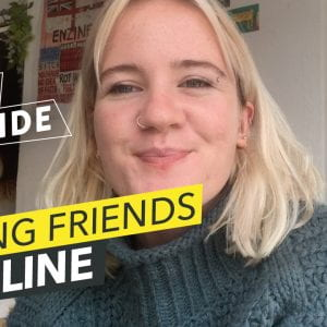 Making friends online at uni [video]