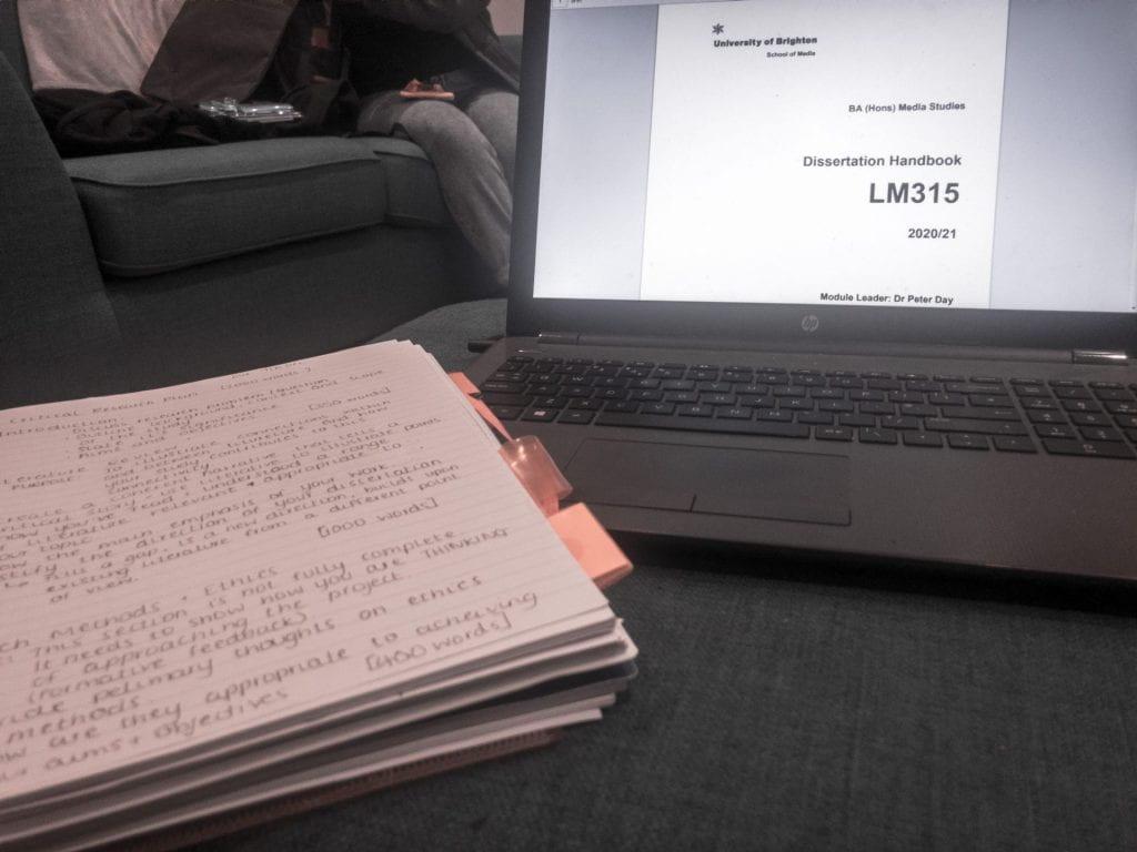 Rachels dissertation notes