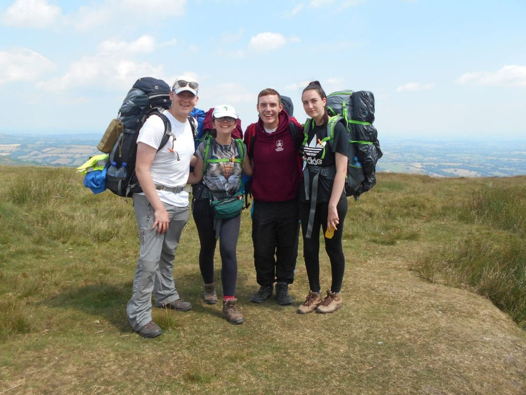 James Gold DofE expedition