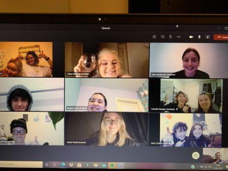 Screenshot of society social online