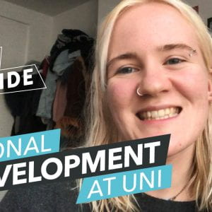 Not just lectures – my personal development at uni [video]