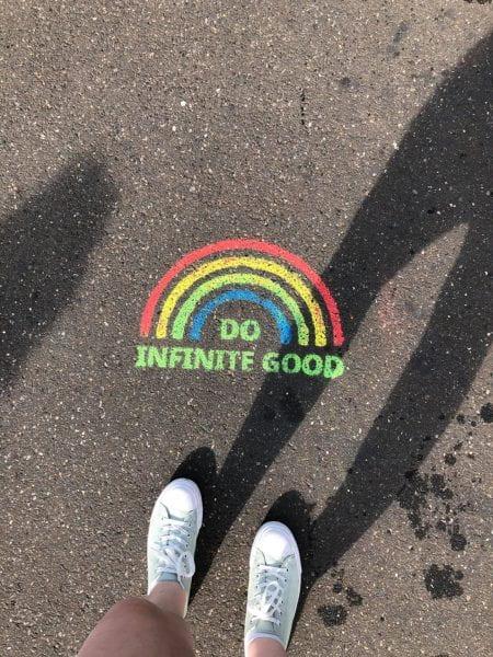 Do Infinite Good graffiti