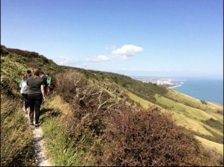 Tour of Eastbourne during summer school