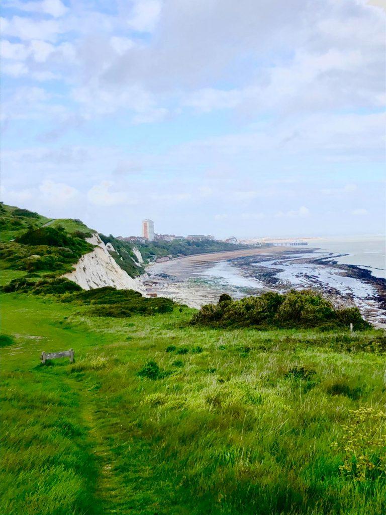 Beachy Head scenic view