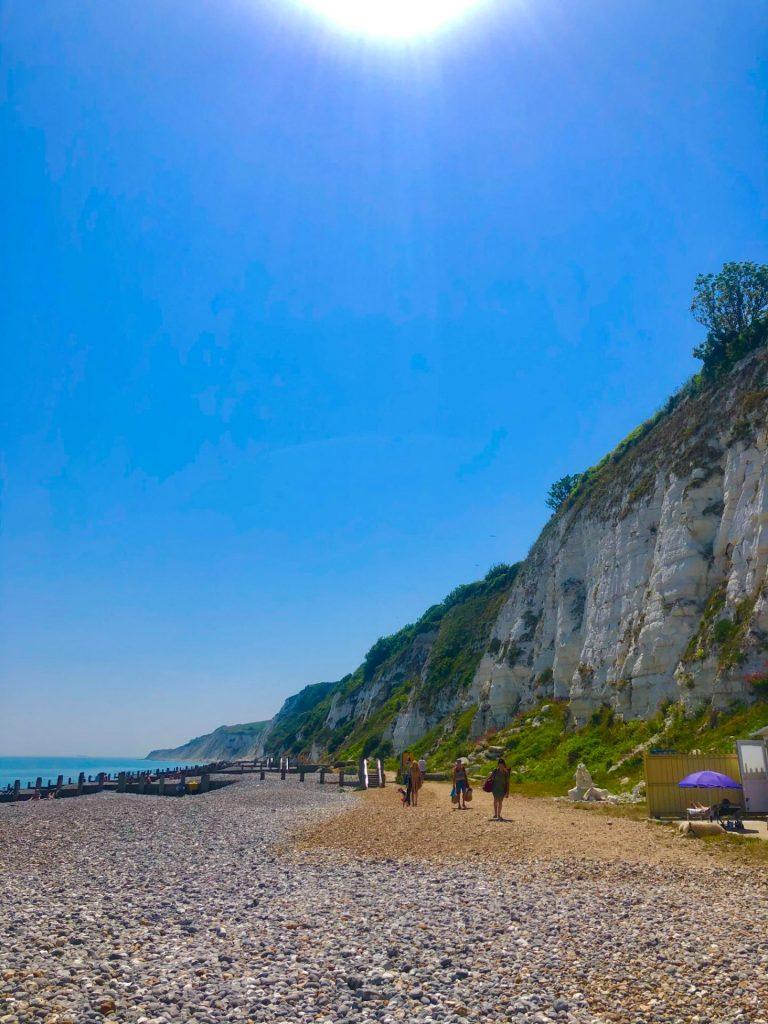 Holywell Retreat coastline