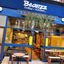 Beanz cafe in Eastbourne