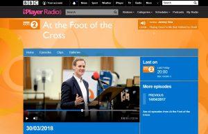 screen shot of BBC website