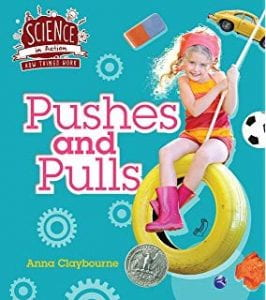 Pushes and pulls science book