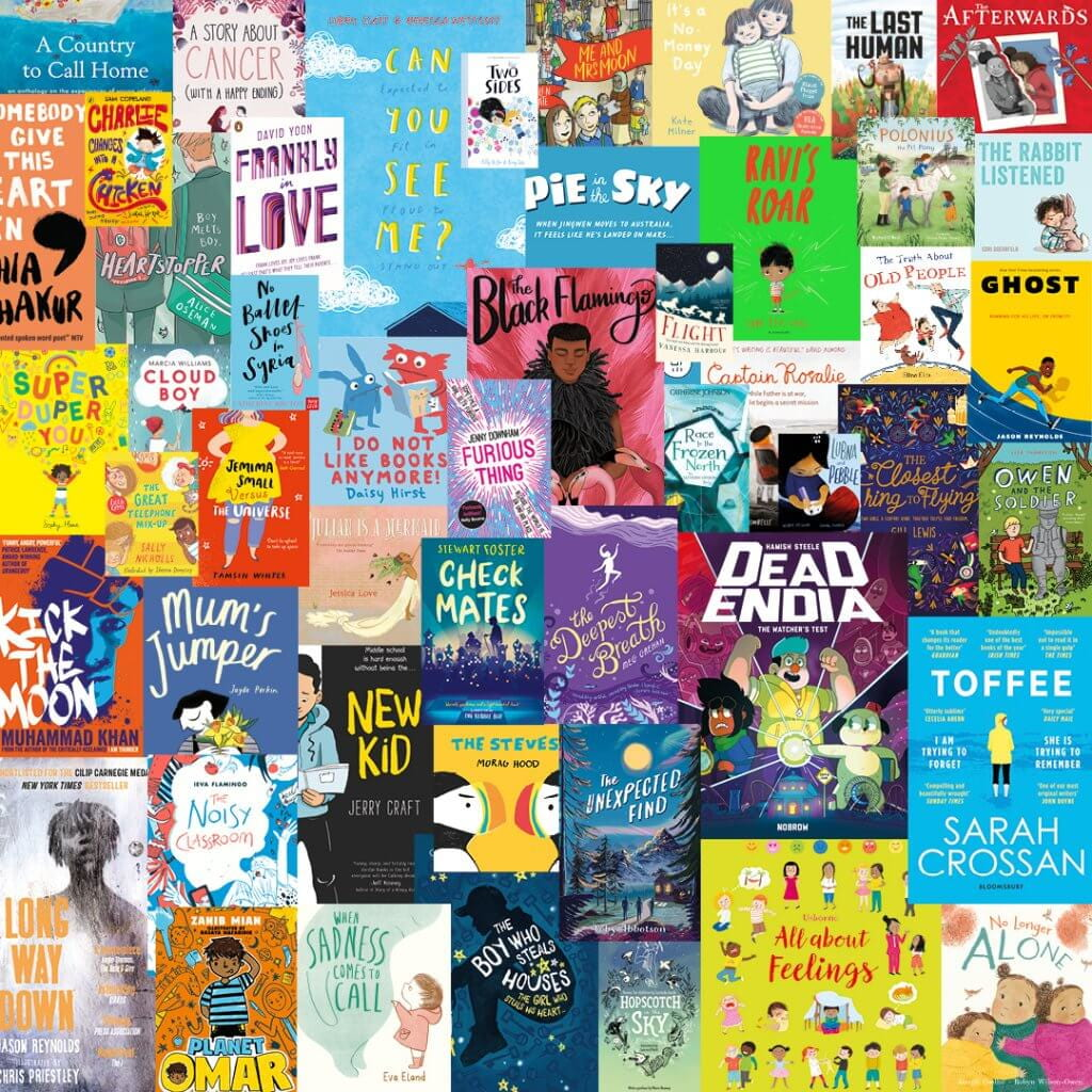 A picture of the books selected for the Read for Empathy Collection