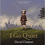 A picture of the cover of the book I go quiet