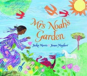 front cover, Mrs Noah's garden