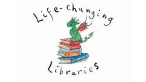 Life changing libraries logo
